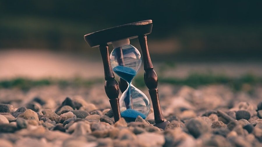人生の時間のイメージ