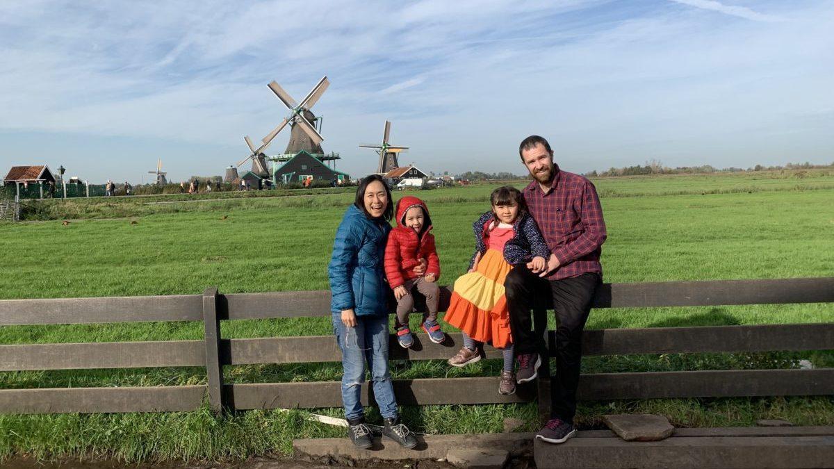 オランダ家族