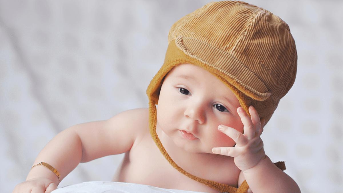 赤ちゃん考える