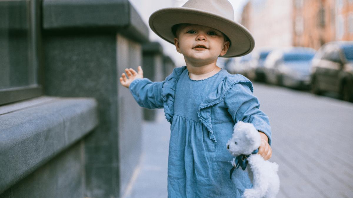 赤ちゃん帽子