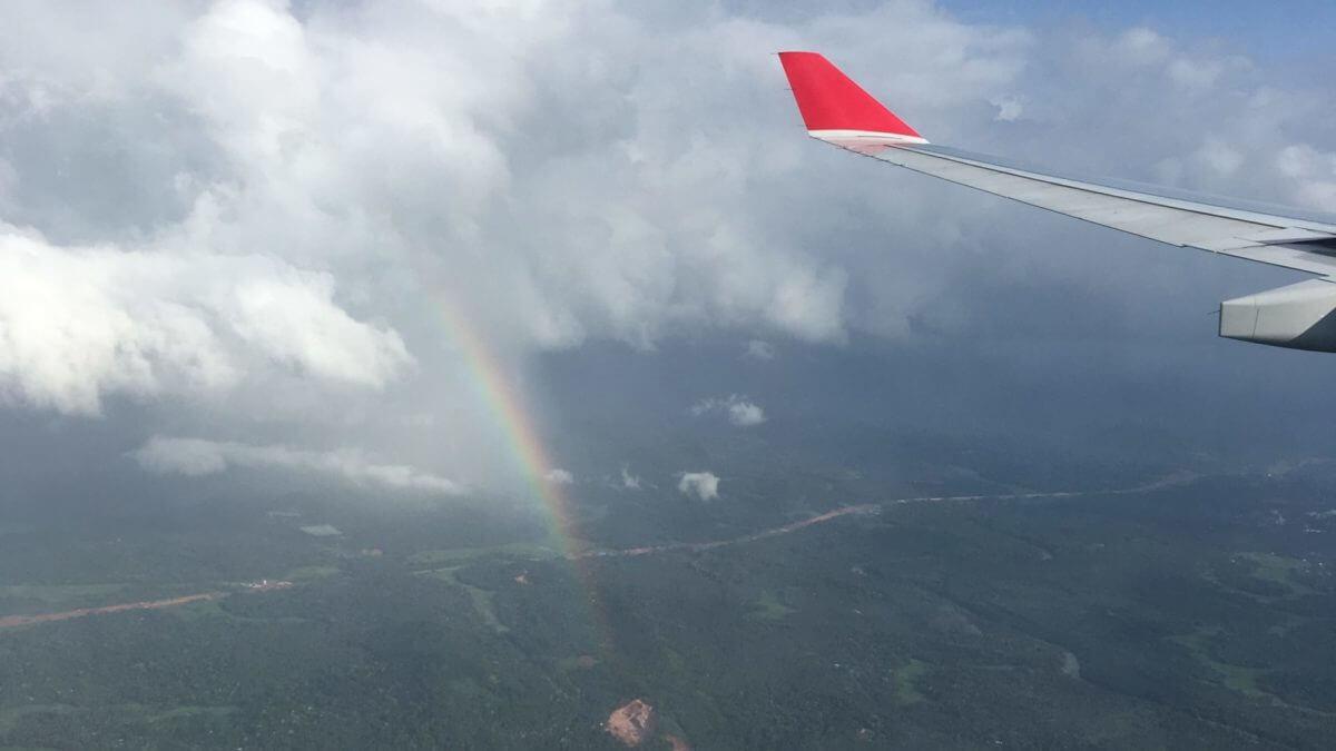 スリランカの空