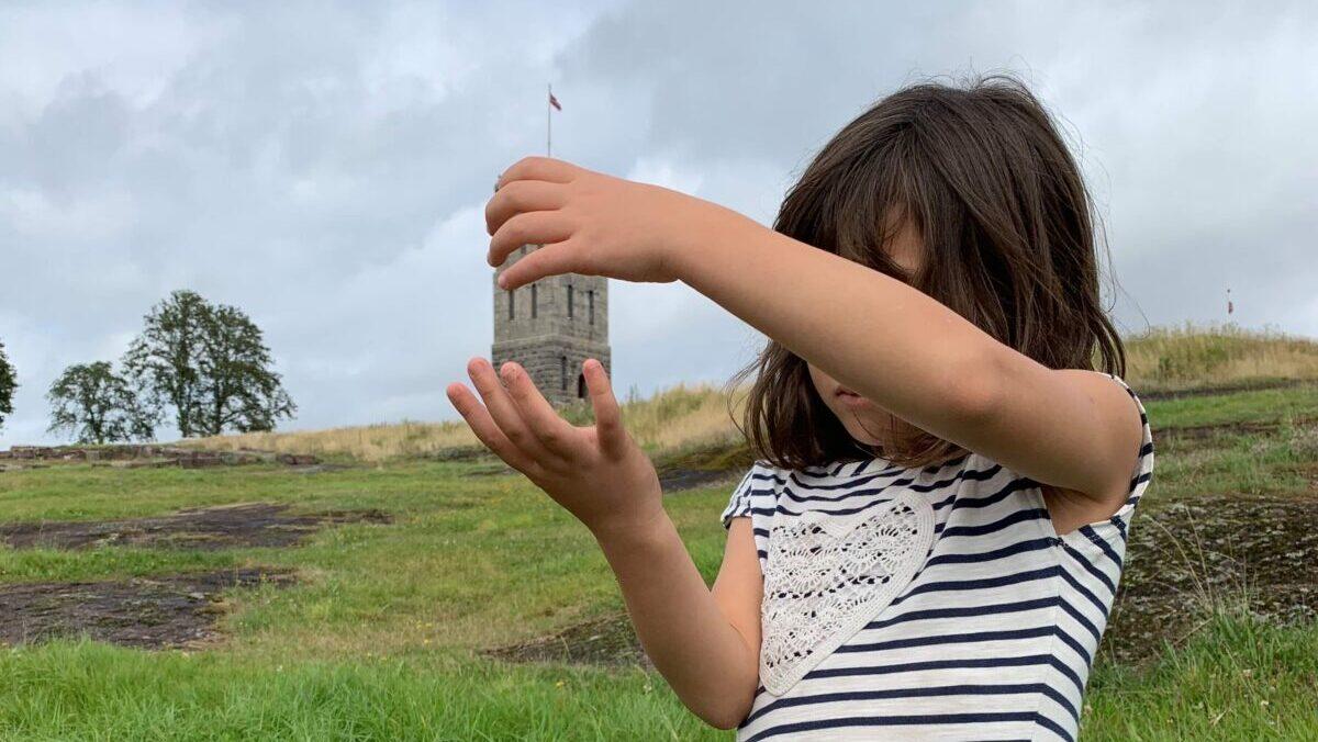 ノルウェーの古城