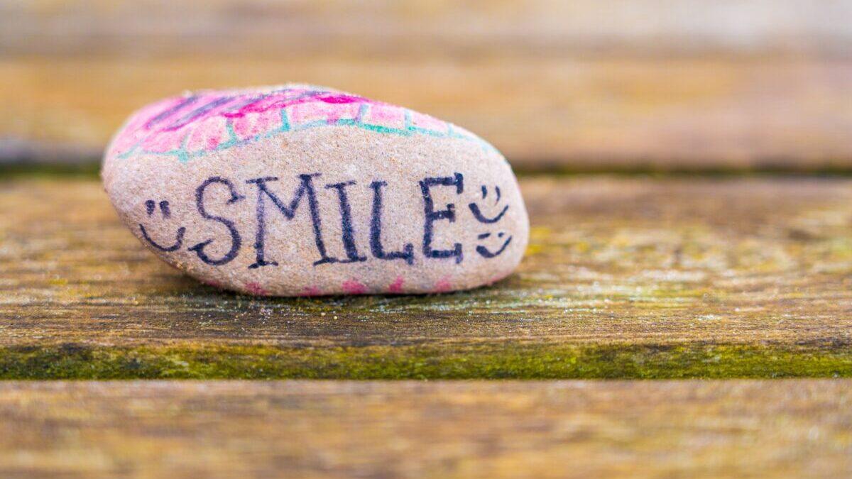 SMILEな石